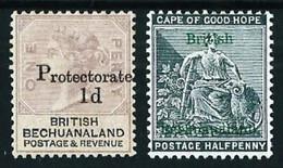 Bechuanaland (Británica) Nº 2-13(*) Año 1888 - 1885-1964 Herrschaft Von Bechuanaland