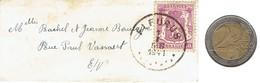Mini Enveloppe (mini Cover Mini Sobre) (Fleurus, 1941) Dimensions 9,5 X 4 Cm - Unclassified
