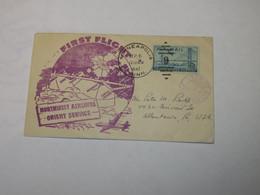 USA  First Flight Cover To Japan Minneapolis - Tokyo 1947 - Sin Clasificación