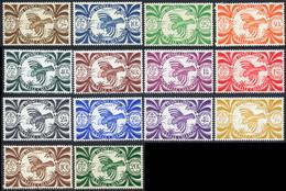 Nouvelle-Caledonie 1943 Yvert 230 / 243 ** TB Londres - Unused Stamps