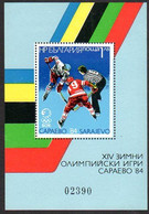 BULGARIA 1984 Winter Olympic Games Block MNH / **. .  Michel Block 140 - Blocks & Sheetlets