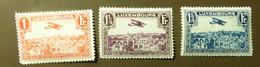 Luxemburg 1931  Mi-Nr. 235 -37  Falz *   #5430 - Unused Stamps