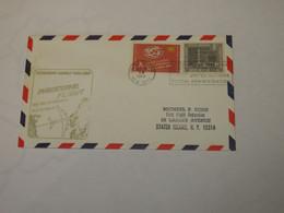 USA  First Flight Cover To Denmark New York - København  1966 - Sin Clasificación