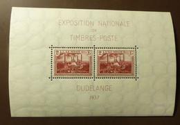 Luxemburg 1937  Mi-Nr. Block 2  Postfrisch ** MNH  #5431 - Unused Stamps