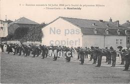 55 - Montmédy - Exercices Exécutés 1910 - Montmedy