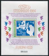 BULGARIA 1984 European Security And Disarmament Conference Block  Used .  Michel Block 139 - Blocks & Sheetlets