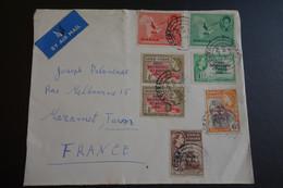BELLE LETTRE DE ACCRA - Goldküste (...-1957)