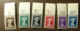Luxemburg 1936  Mi-Nr. 296 -301    Postfrisch ** MNH  #5432 - Unused Stamps