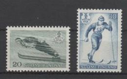 (S1875) FINLAND, 1958 (Nordic Ski Championships). Complete Set. Mi ## 489-490. MNH** - Neufs