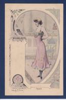 CPA DEBUT Jacques Femme Women Non Circulé Dos Non Séparé Glamour Art Nouveau érotisme 1901 éditeur L'H - Zonder Classificatie