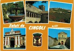 ITALIA 1 - MACERATA - CINGOLI - VEDUTINE - Macerata