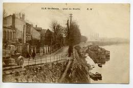93 ST SAINT DENIS Camion Route Quai Du Moulin  Péniches écrite En 1931    D11 2017 - Saint Denis