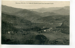 30 Environs D'ALES ALAIS Viaduc De Chamborigaud Monts De Lozere    D02 2018 - Alès