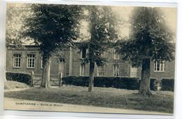 76 DAMPIERRE ST SAINT NICOLAS Ecole Et Mairie  1913 écrite Timb  D02 2018 - Autres Communes