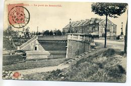80 AMIENS Péniche Au Pont De Beauvillé  1906 écrite Timbrée   D02 2018 - Amiens