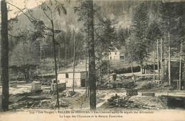 Senones * La Vallée * Les Chavons Après Le Départ Des Allemands * La Loge Des Chasseurs Et La Maison Forestière - Senones