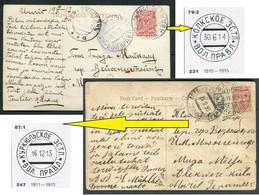 62217 Russia ESTONIA Kolk (Kolga) & Kurküll  VOLOST Goverment Estland Gub. Cancel 1912 Postcards - Storia Postale
