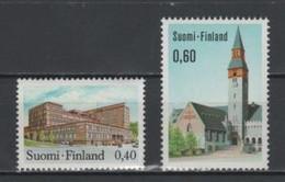(S1947) FINLAND, 1973 (Definitives). Complete Set. Mi ## 718-719. MNH** - Nuevos