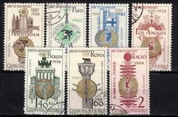 Tchécoslovaquie 1965 Mi 1522-8 (Yv 1388-94), Obliteré - Gebraucht