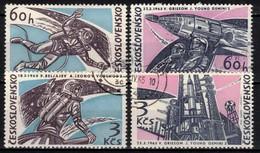Tchécoslovaquie 1965 Mi 1529-32 (Yv 1395-8), Obliteré - Gebraucht