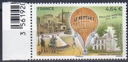 "FRANCE 2020 / PA N° 84 1ex "" BALLONS MONTES-1870 /2020 "" / Bord De Feuille Neuf Xx - 1960-.... Neufs"