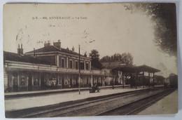 Carte Postale Annemasse La Gare 1917 - Annemasse