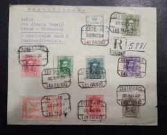 1929.- LAS PALMAS A CHECOSLOVAQUIA. - Briefe U. Dokumente