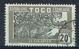 Togo, 20c, Le Cacaoyer, Cacao, 1924, Obl, TB - Gebraucht