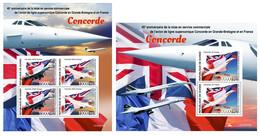 Guinea 2020 Concorde. (325) OFFICIAL ISSUE - Concorde