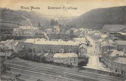 Trois-Ponts - Intérieur Du Village - Trou D'épingle - Trois-Ponts