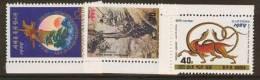 NORTH KOREA  1989 MICHEL NO: 2983-2985 NEW YEAR  MNH - Corea Del Norte