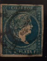 Antillas N7 ( Matasellos Rueda De Carreta - Cuba (1874-1898)