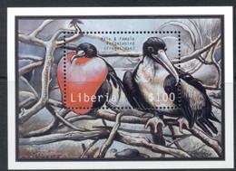 Liberia 2000 Tropical Birds MS MUH - Liberia