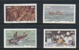 SWA 1983 Lobster Fishing Industry MUH - Südwestafrika (1923-1990)
