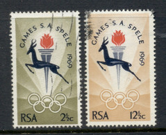 South Africa 1969 National Games FU - Oblitérés