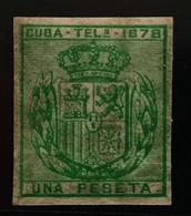 Cuba Telégrafos N43s** Sin - Cuba (1874-1898)