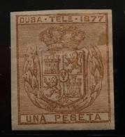 Cuba Telégrafos N39s** Sin - Cuba (1874-1898)