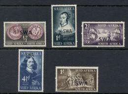 South West Africa 1952 Riebeeck Landing Opt MLH - Südwestafrika (1923-1990)