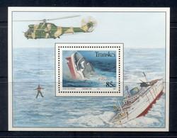 Transkei 1994 Modern Shipwrecks MS MUH - Transkei