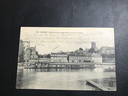 38 - NEVERS Les Rives De La Loire Et La Tour Goguin - - Nevers