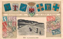 H2502 - SOUVENIR DE LA COTE D'AZUR - NICE - D06 - La Promenade Du Midi - Other