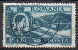 Romania, 1947 - 2l River Steamer - Nr.668 Usato° - Gebraucht