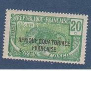 CONGO            N° YVERT  :  94   NEUF AVEC CHARNIERES         ( C H     1 / 60 ) - Ungebraucht