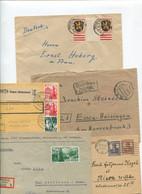 8624) 10 Belege Gesamtdeutschland - Cartas