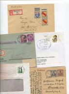 8626) 10 Belege Gesamtdeutschland - Cartas