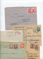 8627) 10 Belege Gesamtdeutschland - Cartas
