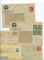 8630) 10 Belege Gesamtdeutschland - Cartas