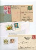 8631) 10 Belege Gesamtdeutschland - Cartas