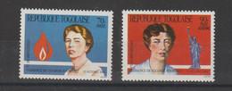 Togo 1984 E Roosevelt 1145 Et PA 511A 2 Val ** MNH - Togo (1960-...)