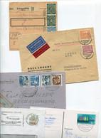 8632) 10 Belege Gesamtdeutschland - Cartas